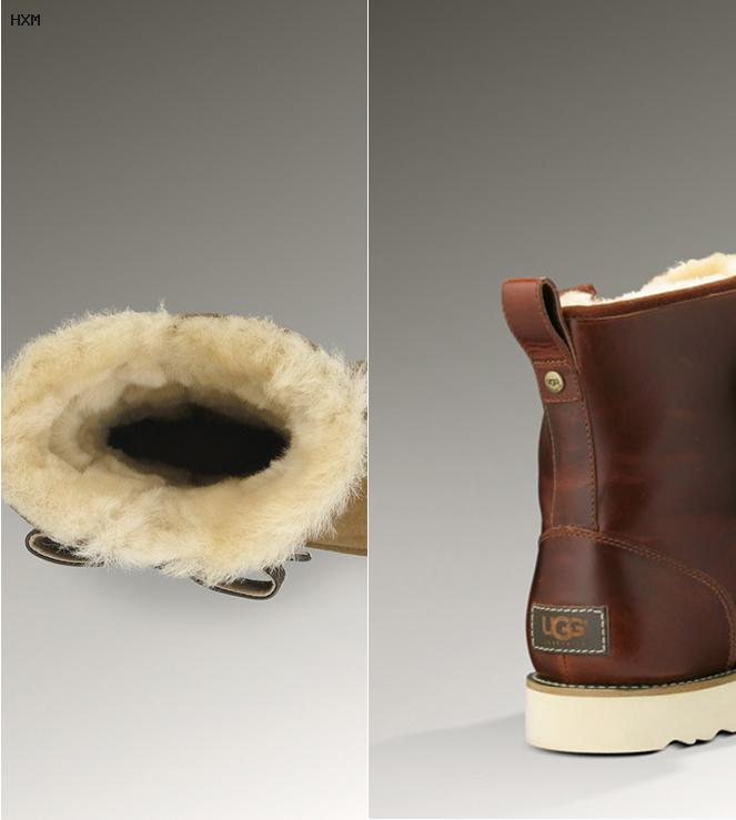 ugg leather boots mens